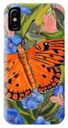 Butterfly Orange IPhone Case