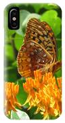 Butterfly Weed Fritillary IPhone Case
