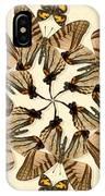 Butterfly Wheel Dance IPhone Case
