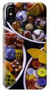 Butterfly With Bowls IPhone Case