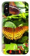 Butterfly Work 10 IPhone Case