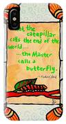 Butterflywhispers3 IPhone Case