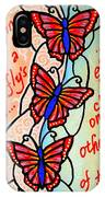 Butterflywhispers4 IPhone Case