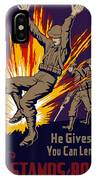 Buy War Stamps And Bonds IPhone Case