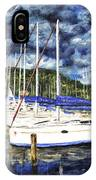 Bvi Sailboats Painting IPhone Case