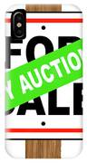By Auction IPhone Case