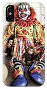 By Blood A King In Heart A Clown IPhone Case