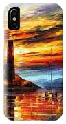 By The Lighthouse IPhone Case
