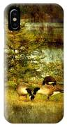 By The Little Tree - Lake Carasaljo IPhone Case