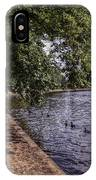 By The River Ouse IPhone Case