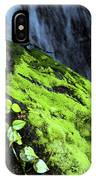 By The Waterfall IPhone Case