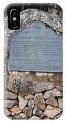Ca-779 Rockville Stone Chapel IPhone Case