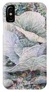 Cabbage Head IPhone Case