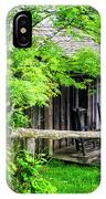Cabin At The Top Mt Leconte IPhone Case