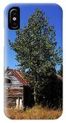 Cabin In The Meadow IPhone Case