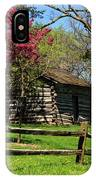 Cabin In The Spring IPhone Case
