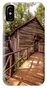 Cable Grist Mill IPhone Case