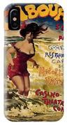 Cabourg - Paris - Grand Hotel - Vintage Restaurant Advertising Poster IPhone Case