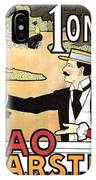 Cacao Karstel - Vintage Cacao Advertising Poster IPhone Case