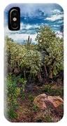 Cactus And Bird IPhone Case