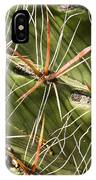 Cactus Diagonal Pattern IPhone Case