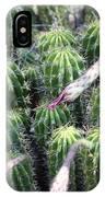 Cactus Drama IPhone Case