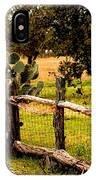 Cactus Fence Line IPhone Case