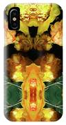 Cactus Flower 08-005 Abstract IPhone Case
