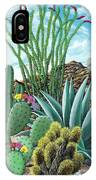 Cactus Garden 2 IPhone Case