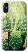 Cactus In Blossom  IPhone Case