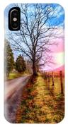 Cades Country Lane IPhone Case