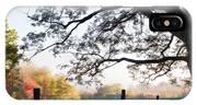 Cades Cove Autumn Morning IPhone X Case