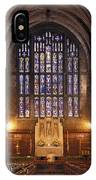 Cadet Chapel With Stained Glass Windows IPhone Case