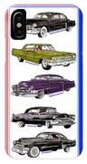 15 Cadillacs The Poster IPhone Case