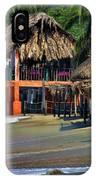 Cafe Beach Bucerias Mexico IPhone Case