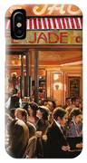 Cafe Jade IPhone Case