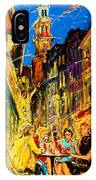 Cafe Of Amsterdam At Night  IPhone Case