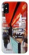 Cafe On Broadway IPhone Case