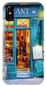 Cafe Restaurant IPhone Case