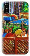 Cafe Second Cup IPhone Case