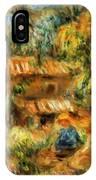 Cagnes Landscape 1 IPhone Case