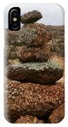 Cairn On The Mountain IPhone Case