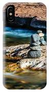 Cairns In The Creek IPhone Case