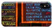 Cajun Menu Alligator Sausage Poboy - 20130119 IPhone Case