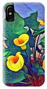 Cala Lily Caliente IPhone Case