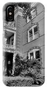Calhoun Mansion Black And White IPhone Case
