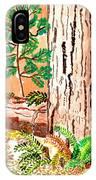 Calif. Redwoods IPhone Case