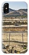 California Oil Field 14pdxl084 IPhone Case