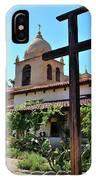 California Spanish Mission IPhone Case