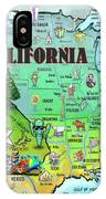 California Usa IPhone Case